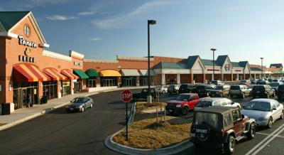 Shopping center photo