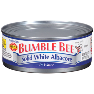 Bumble bee tuna can